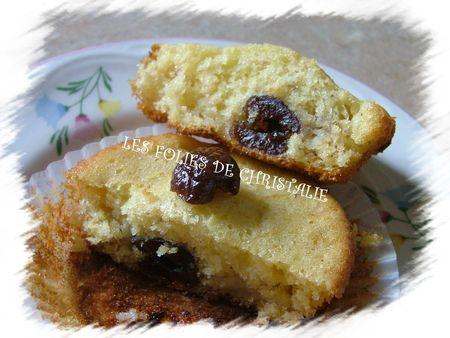 Cake banane cerises confites 7