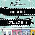 Notting hill with love... actually, d'ali mcnamara