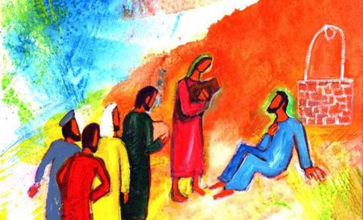 retour des disciples, Berna Lopez
