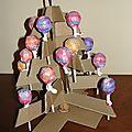 L'arbre à sucettes !