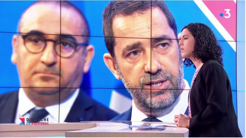 CASTANER AUBRY DIMANCHE EN POLITIQUE MEDIA DIXIT WORLD