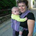 Audrey et son trésor Lucas, 5 mois