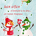 Les elfes s'invitent à la fête...