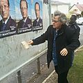 Collage campagne F. Hollande
