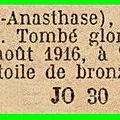 01 - 08 août 1916
