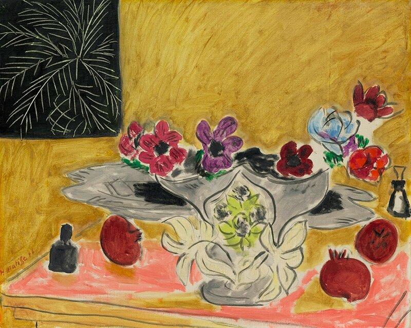 Henri Matisse, Anémones et grenades