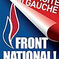 Ni droite ni gauche : front national !