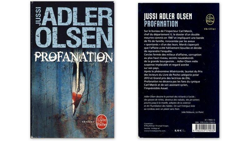 Profanation - Jussi Adler Olsen