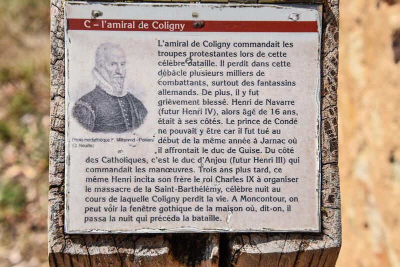 3 Octobre 1569, Troisième guerre de Religion, bataille de Moncontour dans le Poitou