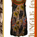 Robe « jungle fever » collector n°101110604