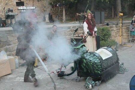 Maman Dragon fume
