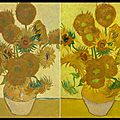 Les tournesols - the sunflowers - vincent van gogh - national gallery - londres