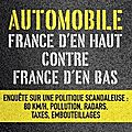 Automobile, france d'en haut contre france d'en bas ed. eyrolles