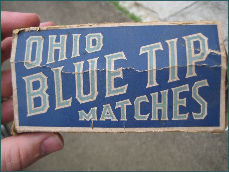 Blue tip matches paterson