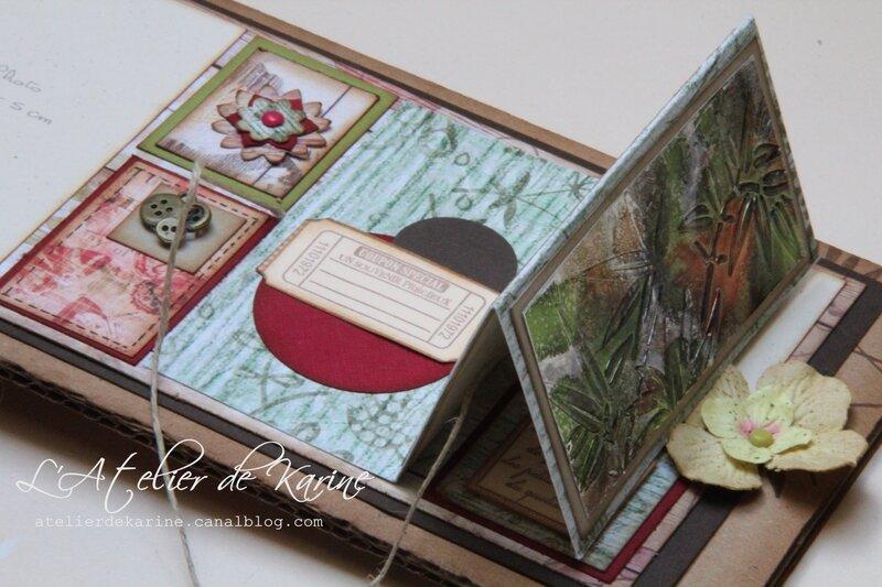 mini album - cadeau pour Sandra