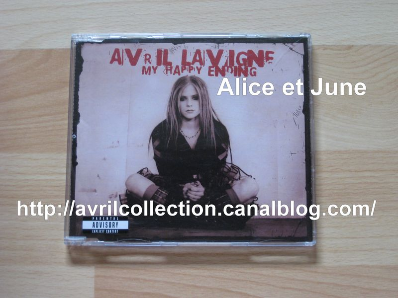 Maxi CD My Happy Ending-version européenne/couverture alternativ