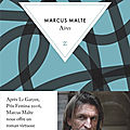 Livre : aires de marcus malte - 2020