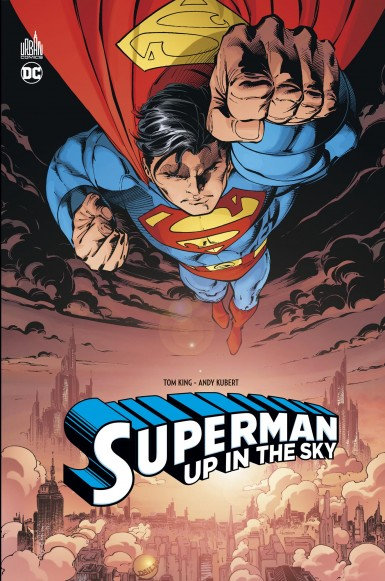Urban DC Superman Up in the sky
