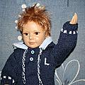 Une tenue pour grande poupée de 45 - 48 cm