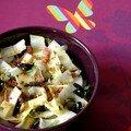 Salade d'endives de ma maman revisitée au gomasio !