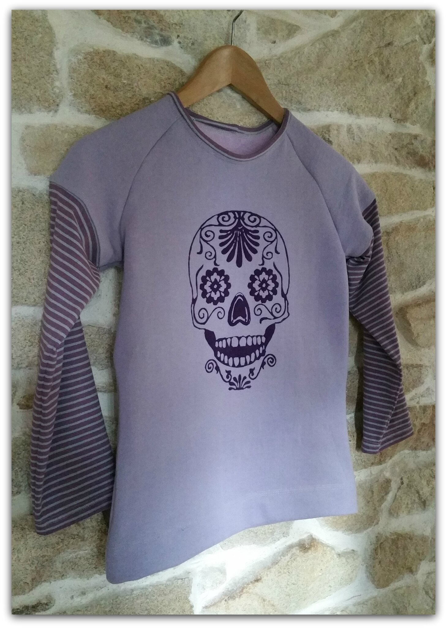 Un sweat Flower skull