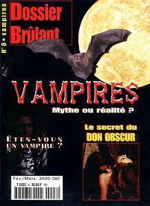 Dossier Brûlant N° 8 Vampires