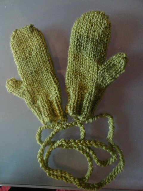 Chunky Toddler Mitts