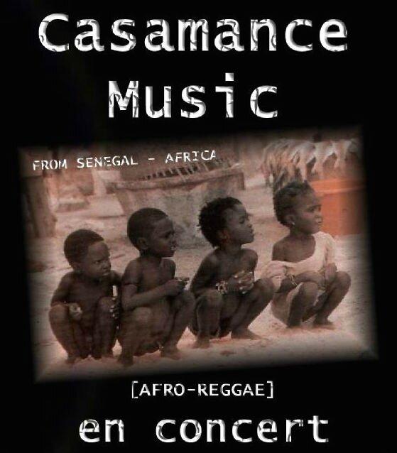 casamance concert poster