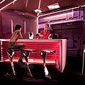 Le bar du 787-9 de chez virgin atlantic, quand le design nous parle.