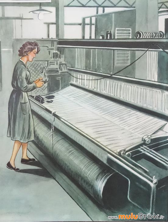 Affiche-Rossignol-FABRIQUE-TISSU-5-muluBrok-Vintage