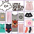 Mes coups de coeur de la collection en nom propre little fashion gallery