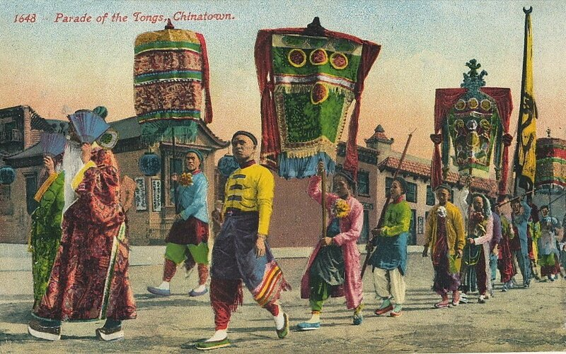 CPA San Francisco Parade chinoise