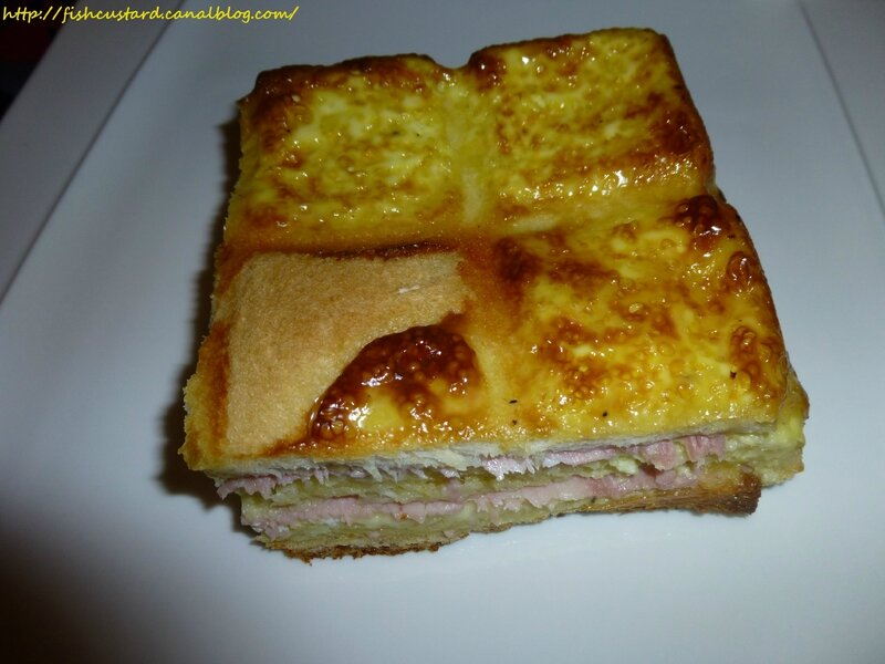 Croque-cake jambon-fromage (moule tablette) (26)