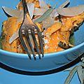 Vive la courge! gnocchis de butternut rôtie au beurre de sauge