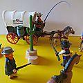 Idée cadeau : les playmobil version western