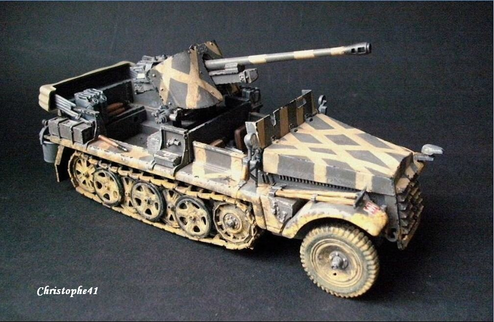 Demag D7 ( Sdkfz 10 ) avec Pak 38 - PICT1384