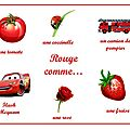 Rouge comme...