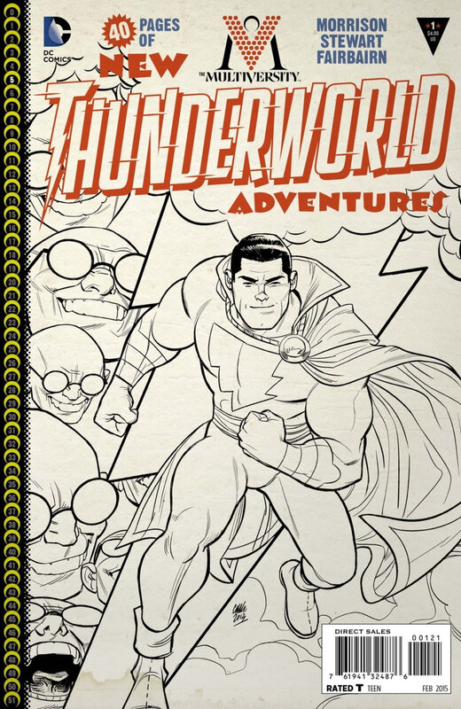 the multiversity thunderworlds adventures variant