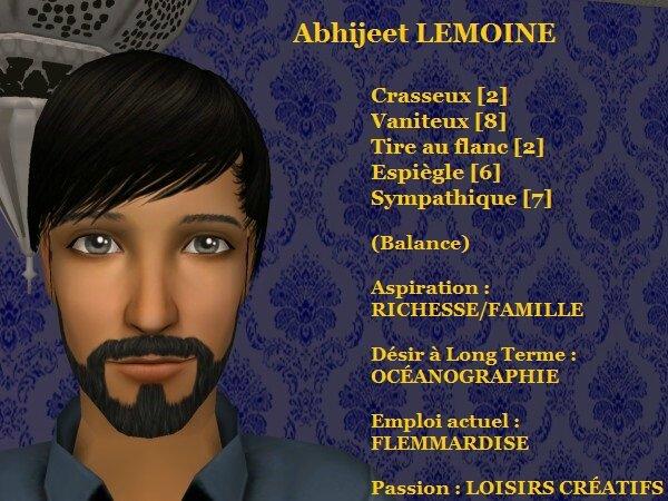 Abhijeet LEMOINE