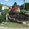 Fleurissement rue du haut-mont