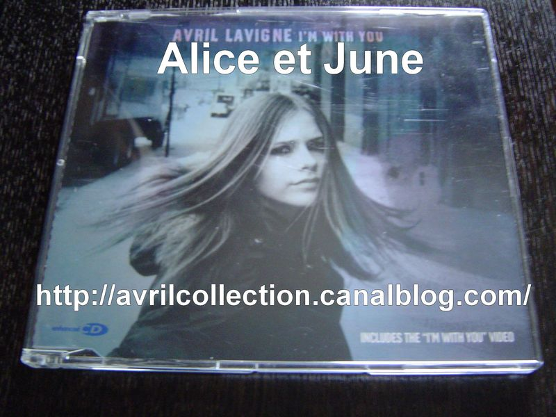 Maxi CD I'm With You-version européenne (2003)