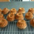 Gâteaux portugais moelleux