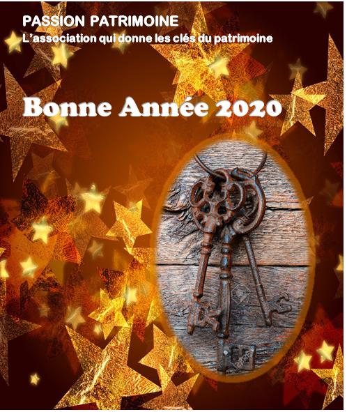 Voeux 2020 Passion Patrimoine