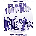 En janvier, flash impro !