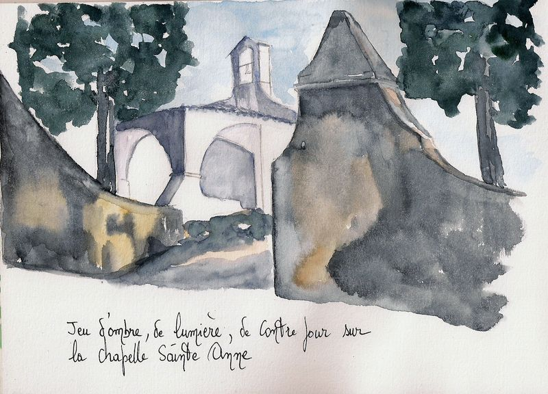 Saint Tropez : Chapelle Sainte Anne