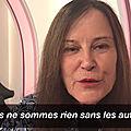 Irène frain parle du vivre ensemble: