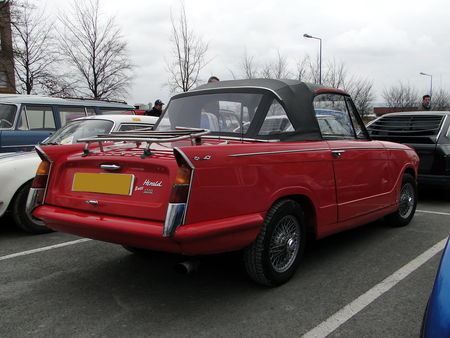 TRIUMPH Herald 1200 Convertible 1961 1970 Salon Champenois du Vehicule de Collection de Reims 2010 2