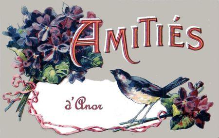 ANOR-Carte Souvenir