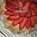 Charlotte à la fraise