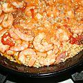 Riz aux crevettes (arroz de gambas)
